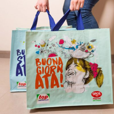 shopper bag riutilizzabile